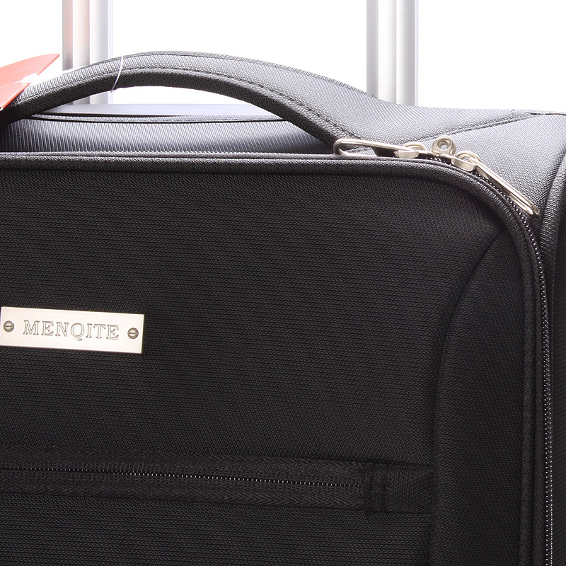 Cestovní kufr LUFD velikost I, 2,2kg, 2 kolečka, černý