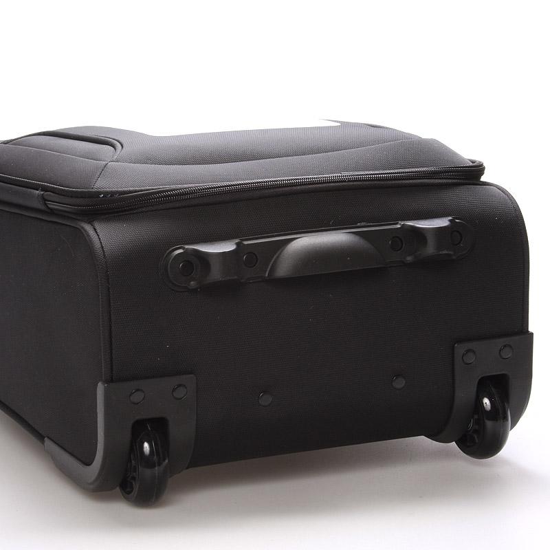 Cestovní kufr LUFD 2 kolečka, velikost III, 3,4kg, černý