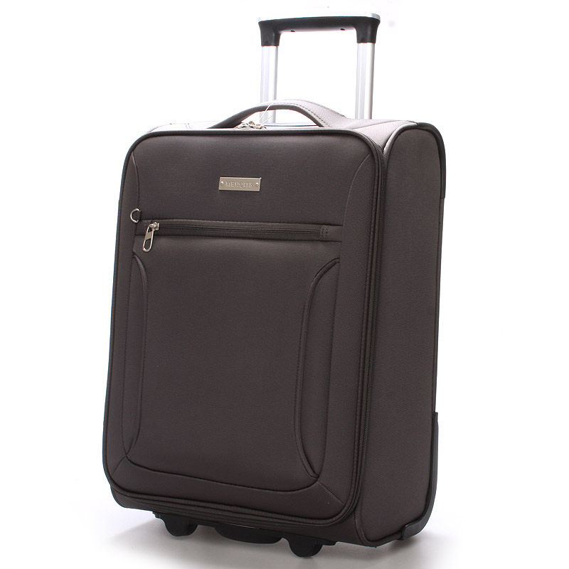 Cestovní kufr LUFD velikost II, 2,8, 2 kolečka, šedý