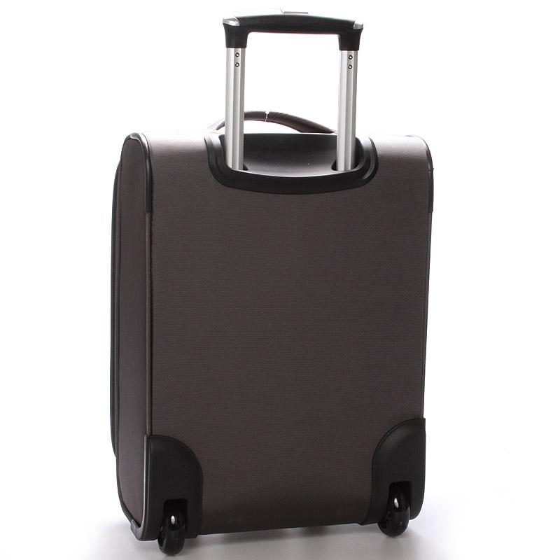 Cestovní kufr LUFD velikost III, 3,4kg, 2 kolečka, černý