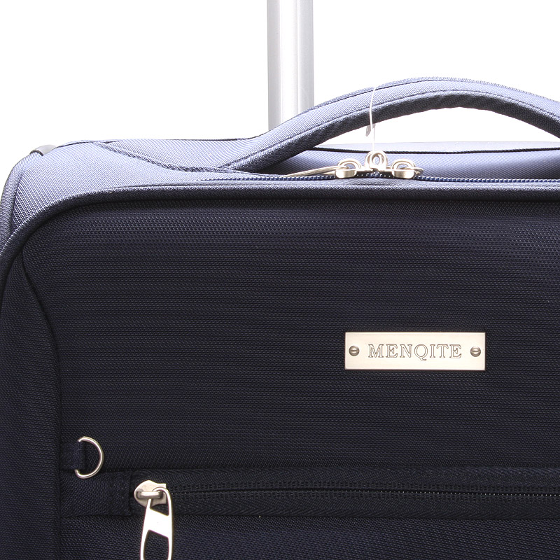 Cestovní kufr LUFD velikost II, 2,8kg, 2 kolečka, modrý
