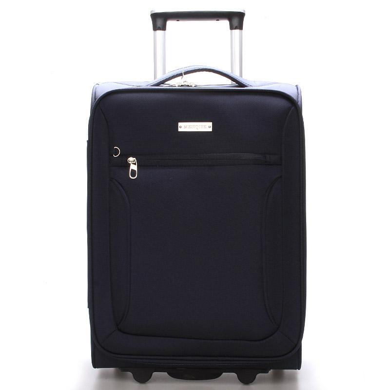 Cestovní kufr LUFD velikost III, 3,4kg, 2 kolečka, modrý