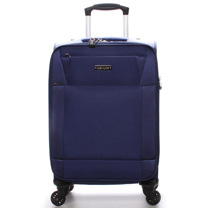 Cestovní kufr velikost III, 4 kolečka, 3,6kg modrý