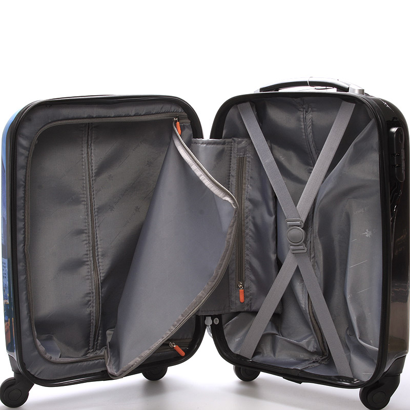 Cestovní kufr REAL NY, velikost I, 4 kolečka