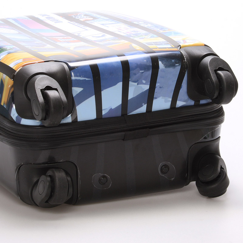 Cestovní kufr REAL NY, velikost II, 4 kolečka