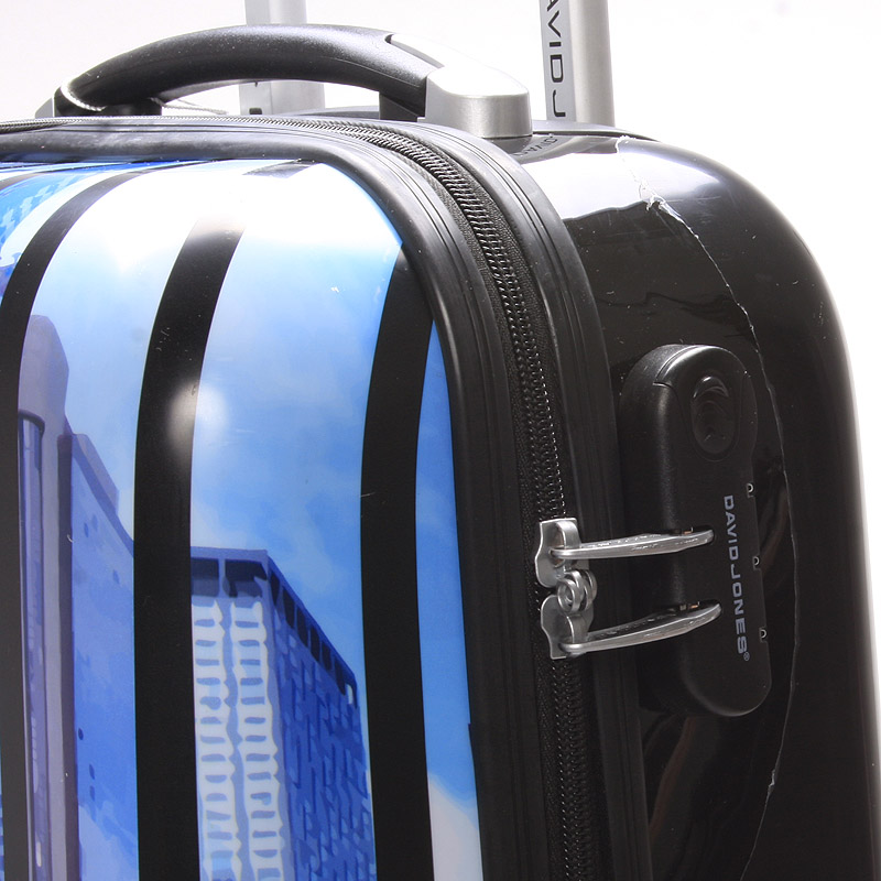 Cestovní kufr REAL NY, velikost III, 4 kolečka