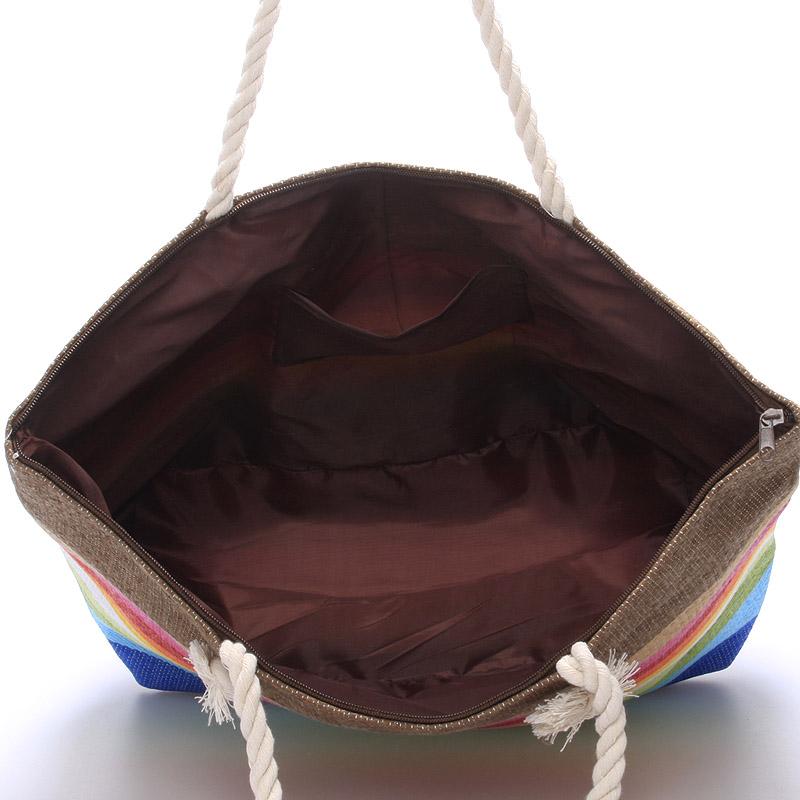 Plážová taška NATASHA, duhová