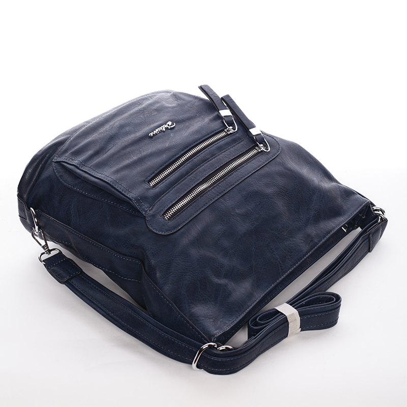 Trendy crossbody kabelka Leon, modrá