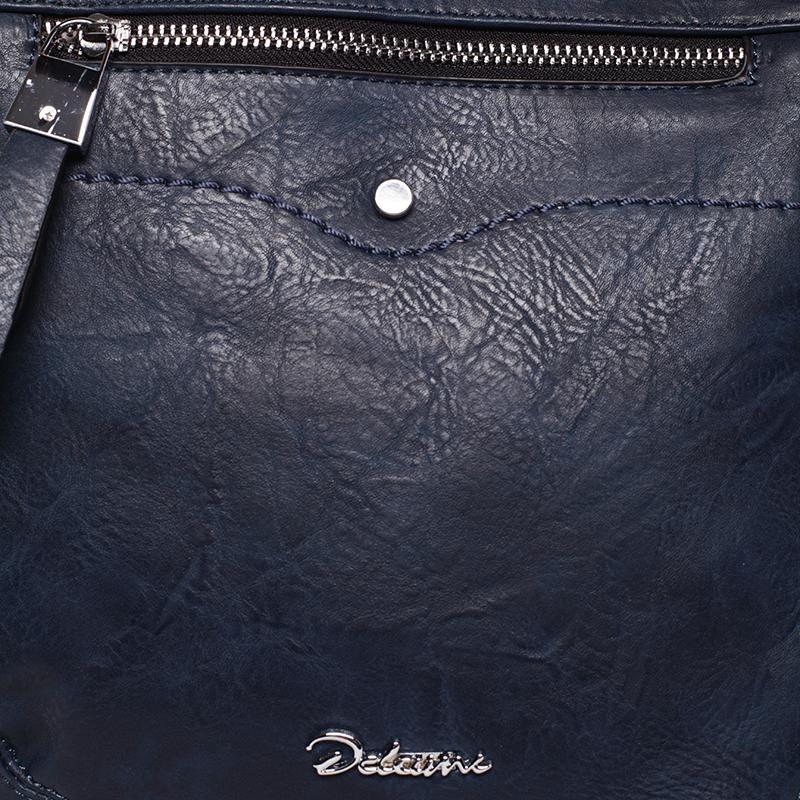 Crossbody kabelka Karli, modrá Delami