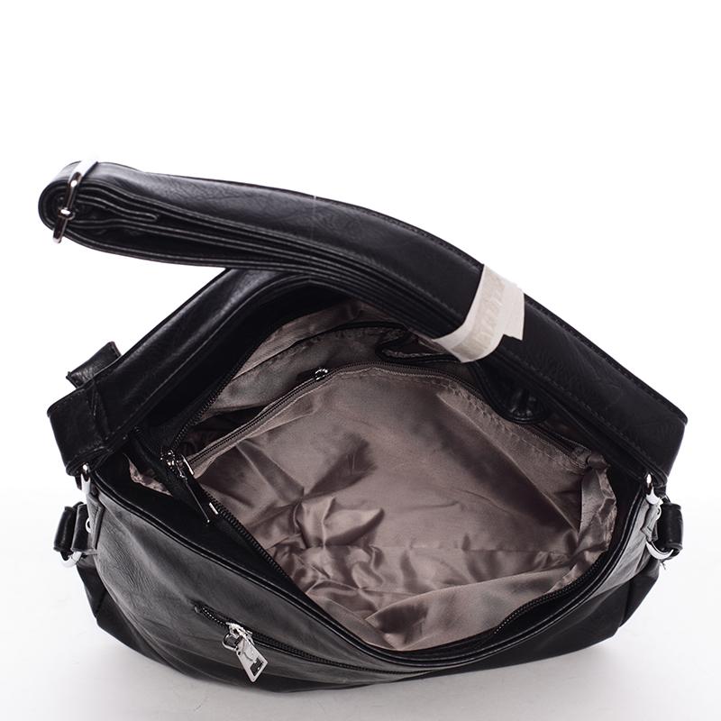Crossbody kabelka Karli, černá Delami