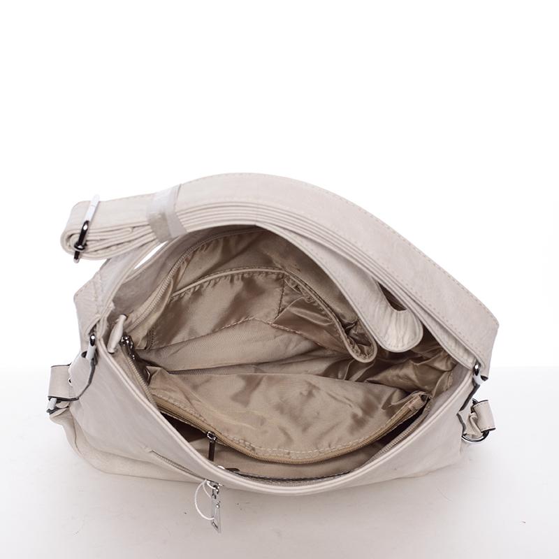 Crossbody kabelka Karli, béžová Delami