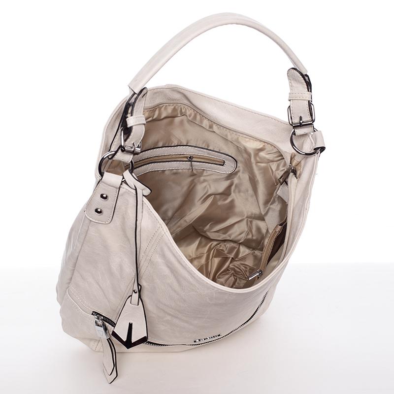 Dámská kabelka přes rameno Leanne, béžová