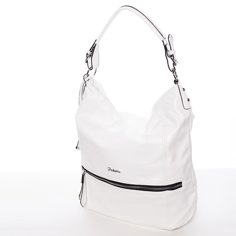 Dámská kabelka přes rameno Leanne, bílá