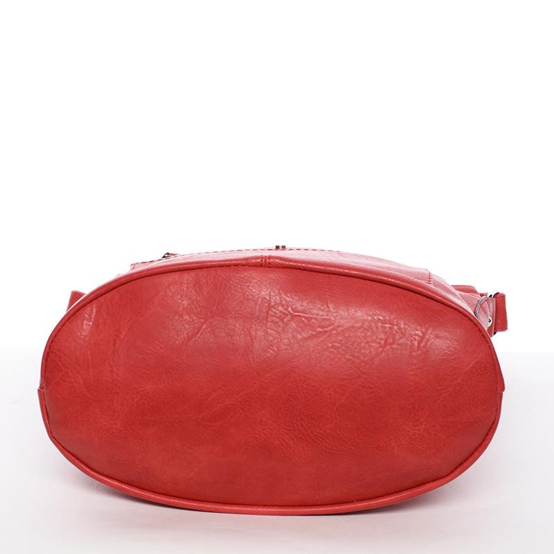 Dámská kabelka přes rameno  Delami Hazel, červená