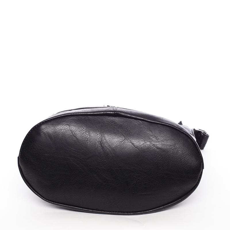 Dámská kabelka přes rameno  Delami Hazel, černá