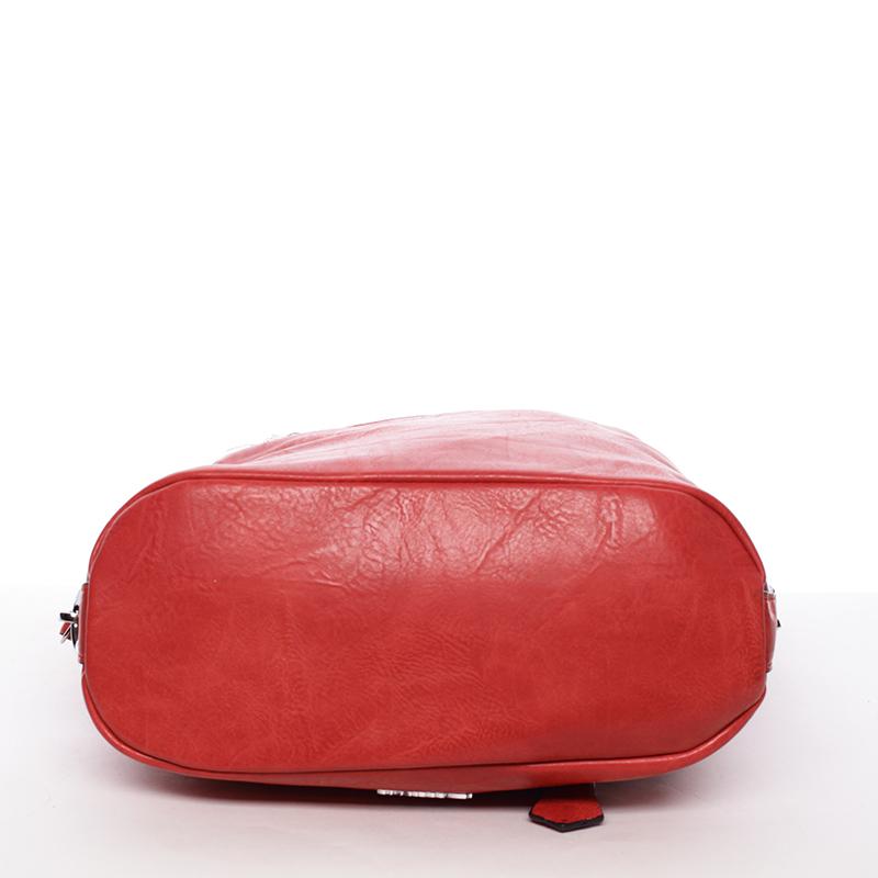 Trendy crossbody kabelka Delami Mina, červená