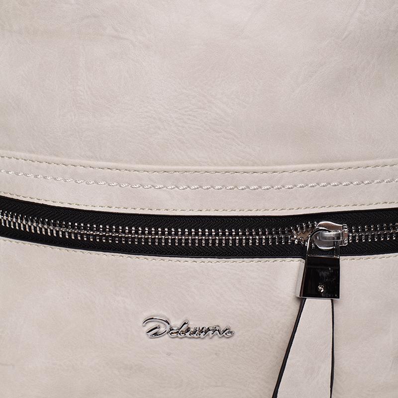 Trendy crossbody kabelka Delami Mina, béžová