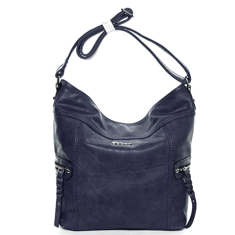 Trendová kabelka přes rameno Delami Kendal, modrá