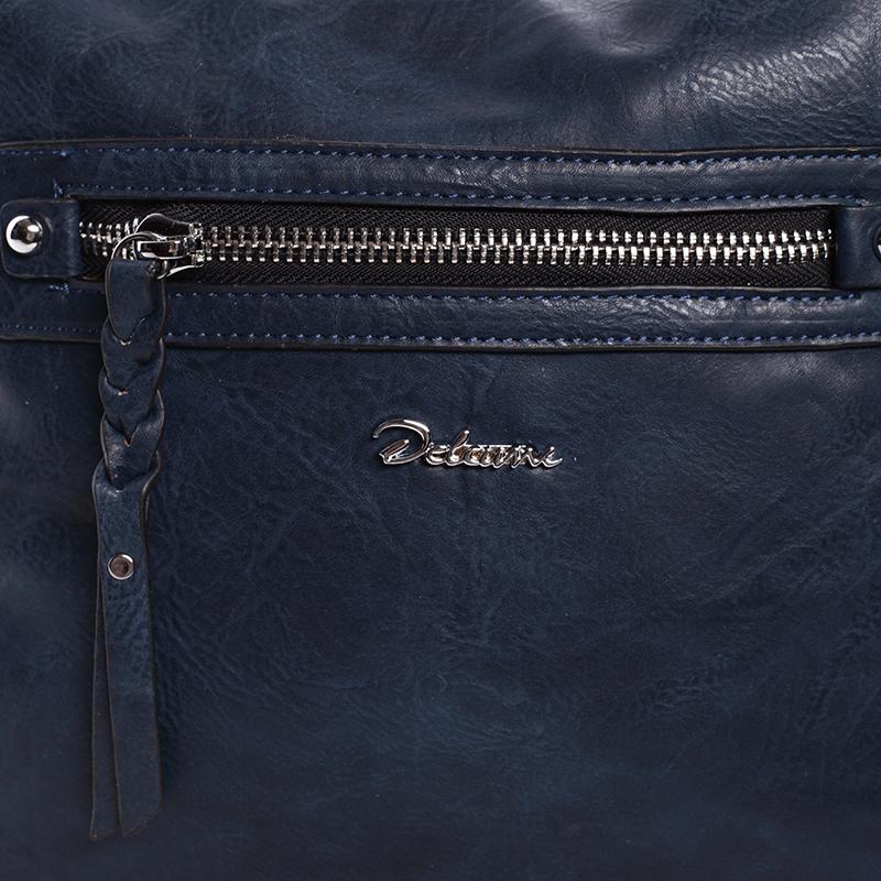 Dámská trendy kabelka přes rameno Delami Reese, modrá
