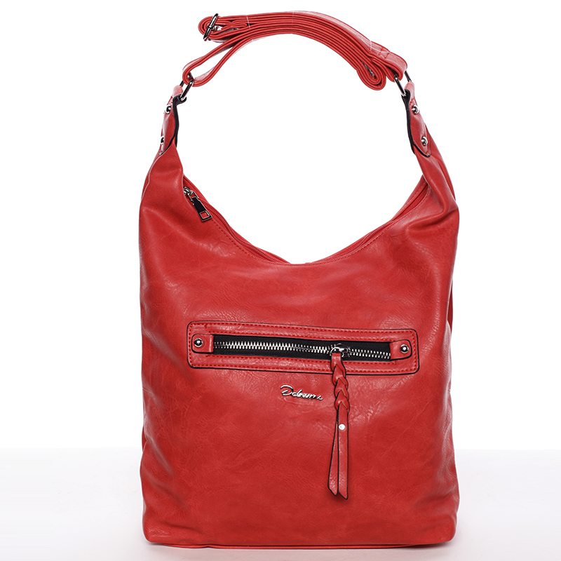 Dámská trendy kabelka přes rameno Delami Reese, červená