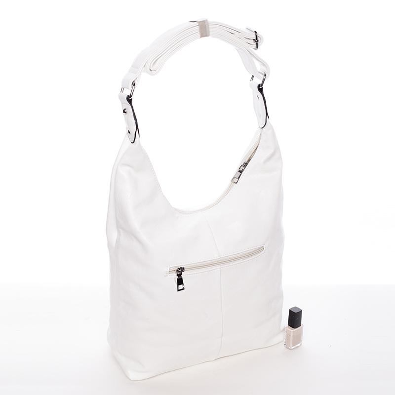 Dámská trendy kabelka přes rameno Delami Reese, bílá