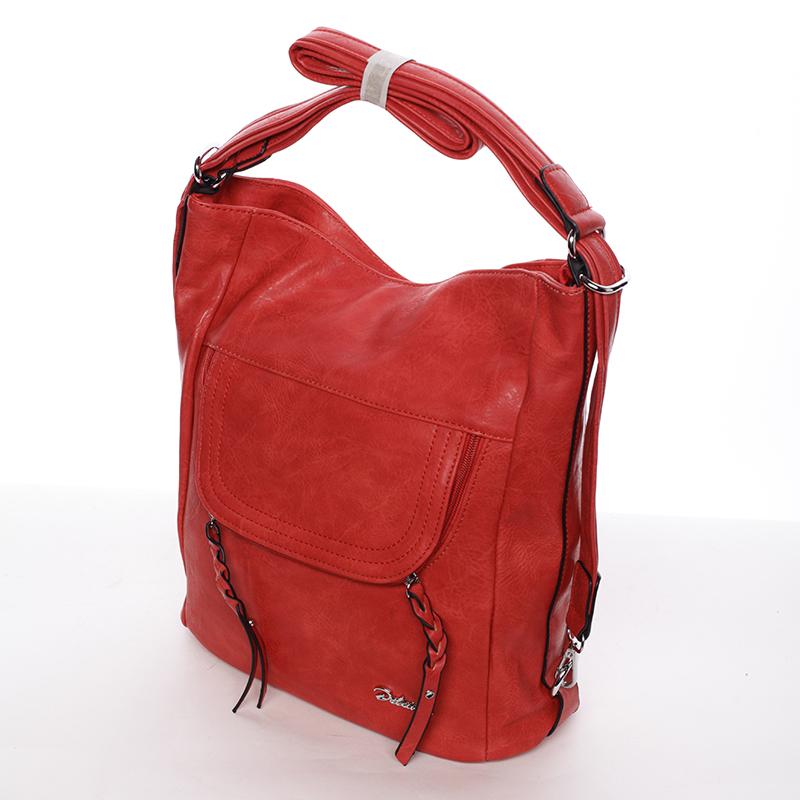 Dámská crossbody kabelka Delami Sasha, červená