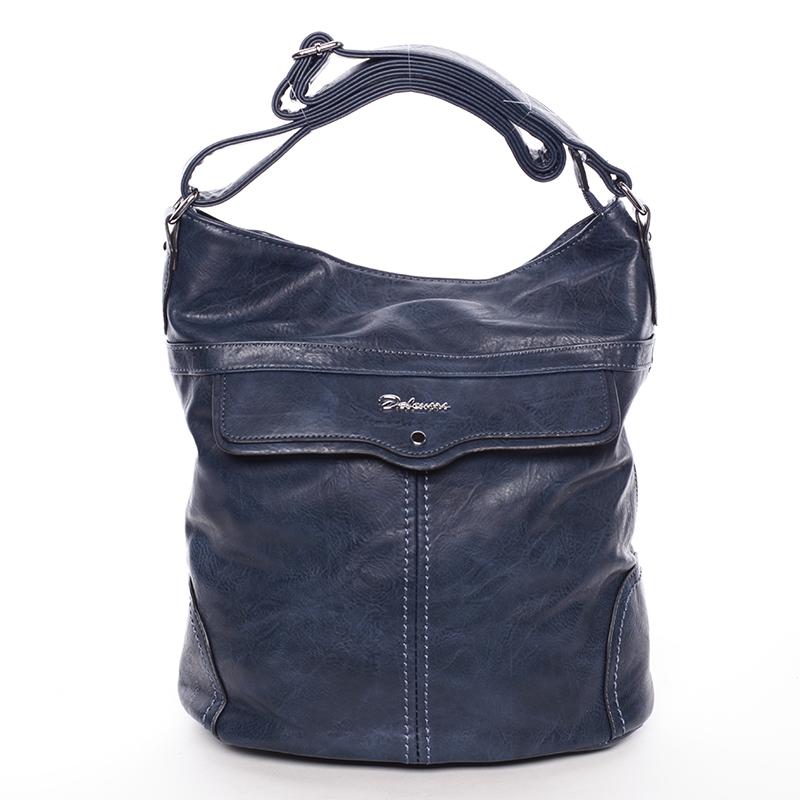 Trendová kabelka přes rameno Delami Ericka, modrá