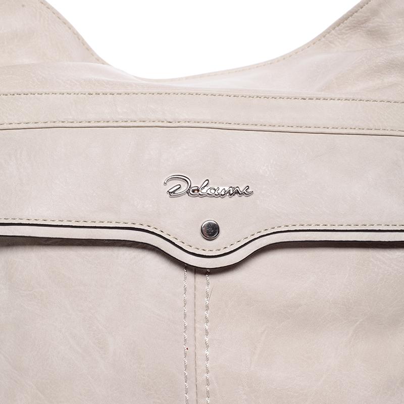 Trendová kabelka přes rameno Delami Ericka, béžová
