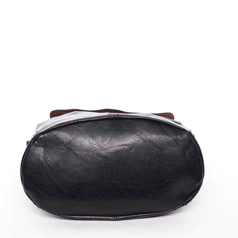 Trendová kabelka přes rameno Delami Ericka, černá