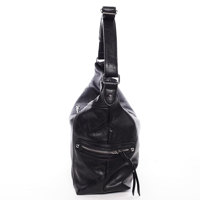 Trendová kabelka přes rameno Delami Kendal, černá