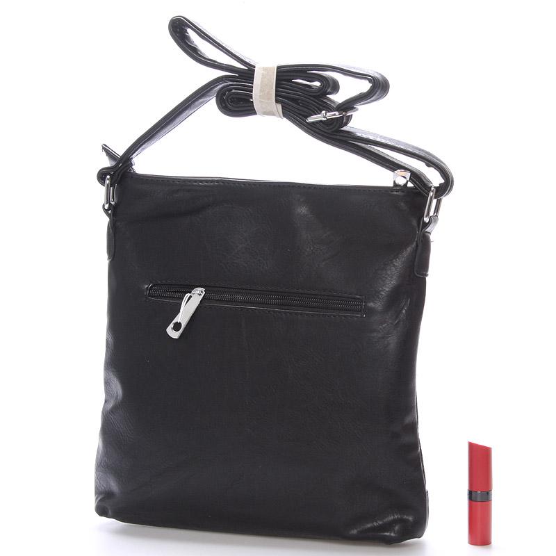 Crossbody kabelka Hannah, černá