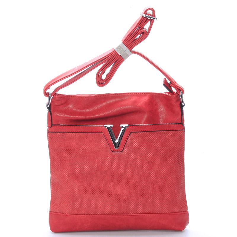 Crossbody kabelka Hannah, červená
