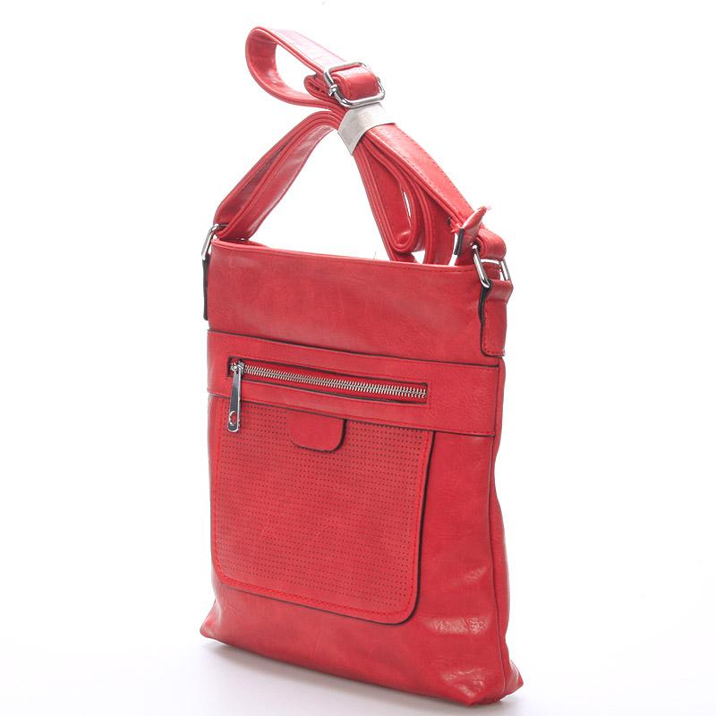 Crossbody kabelka Kirsty, červená