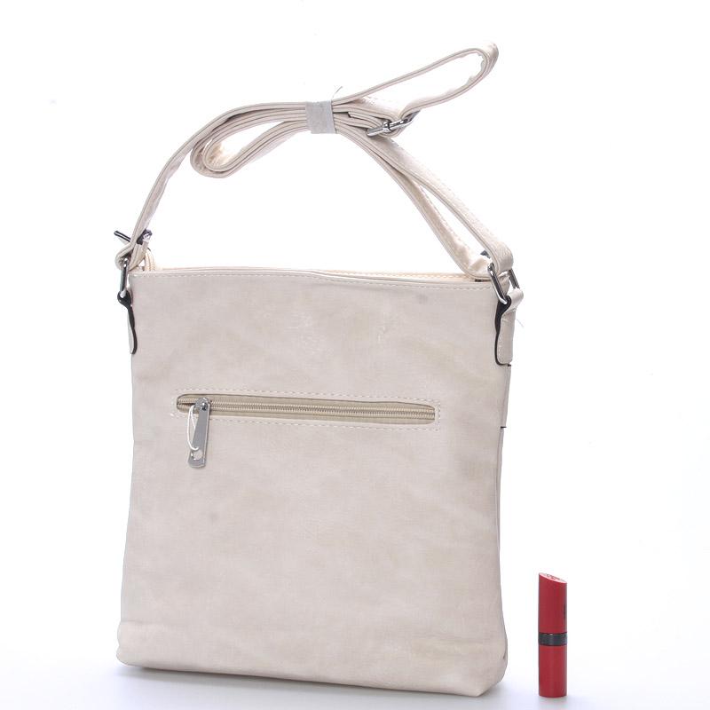 Crossbody kabelka Kirsty, béžová