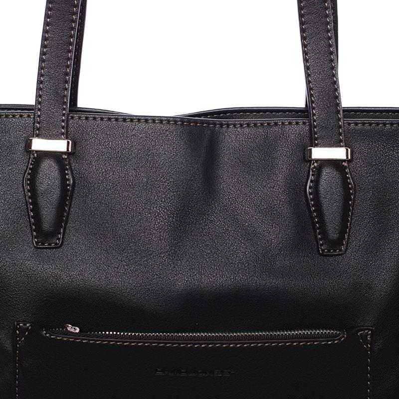 Trendy dámská kabelka Chelsea, černá