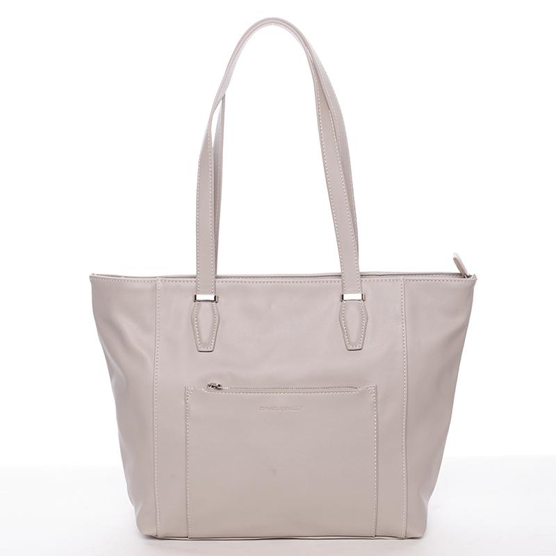 Trendy dámská kabelka Chelsea, písková
