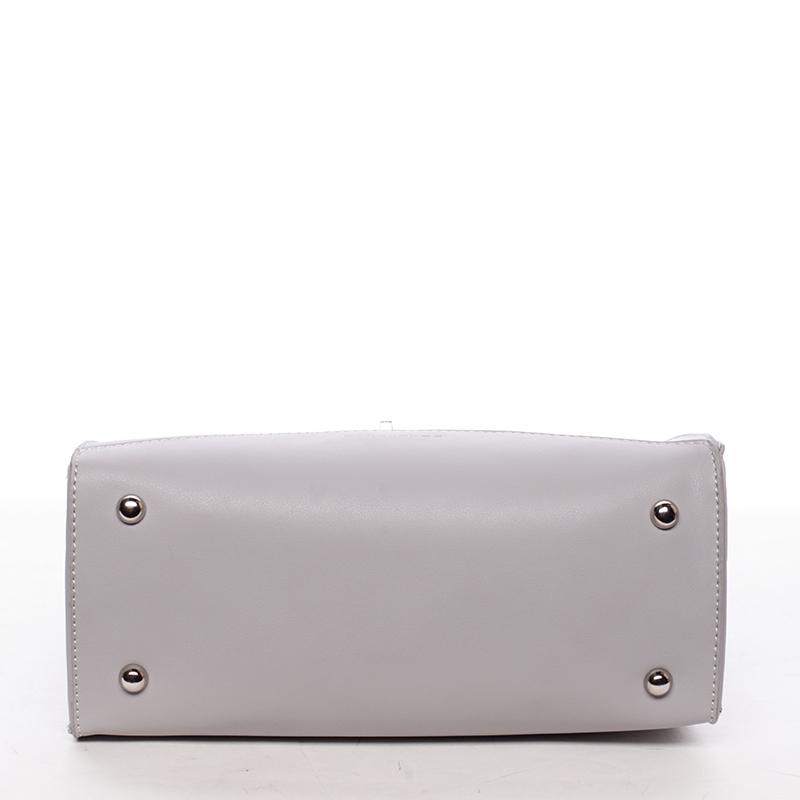Luxusní kabelka do ruky Rhiannon, šedá