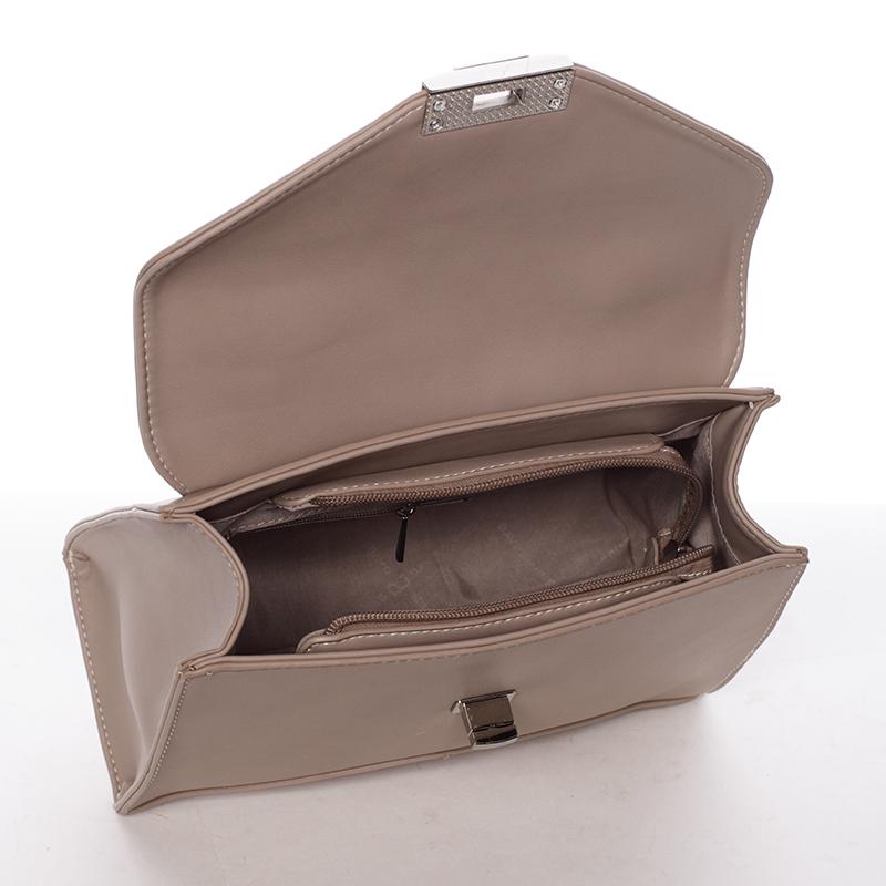 Luxusní kabelka do ruky Rhiannon, béžová