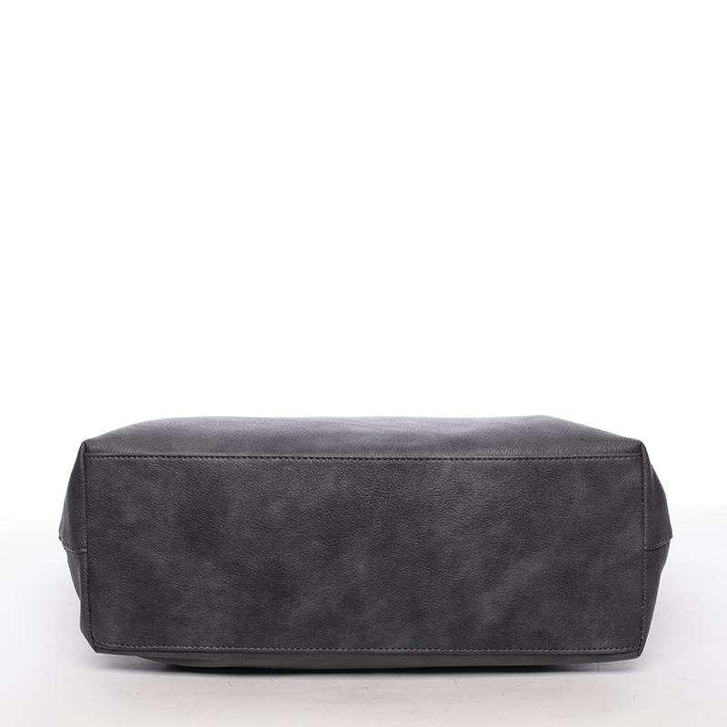 Dámská luxusní kabelka přes rameno Mollie, černá