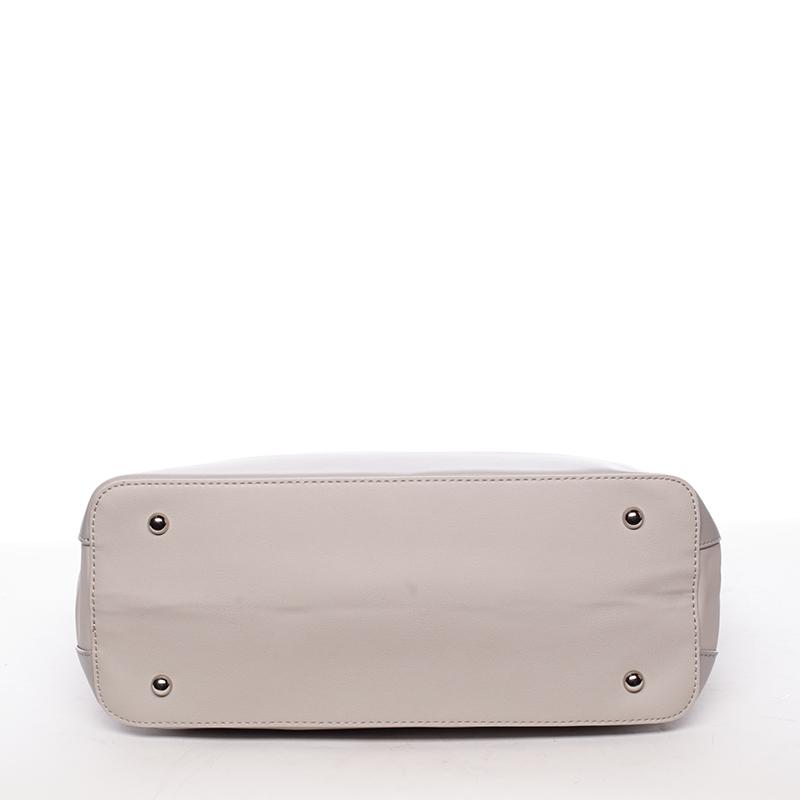Luxusní dámská kabelka přes rameno Sasha, šedá