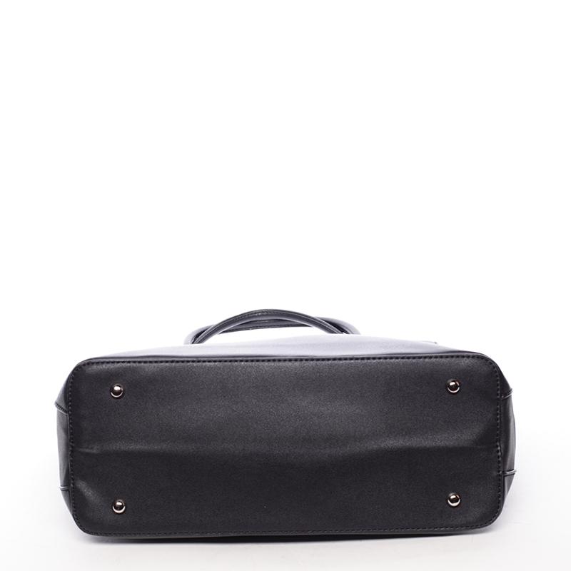 Luxusní dámská kabelka přes rameno Sasha, černá