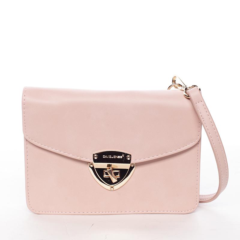 Luxusní crossbody a peněženka Amara, růžová