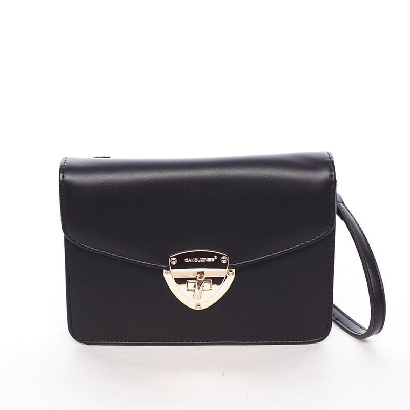 Luxusní crossbody a peněženka Amara, černá