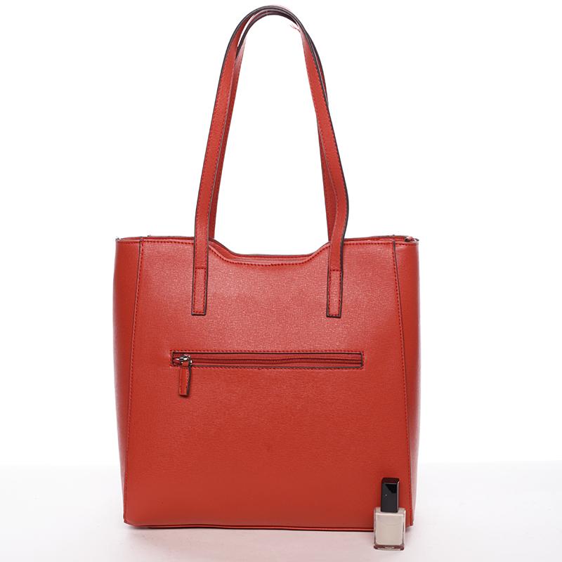 Trendy dámská kabelka Aurora, červená