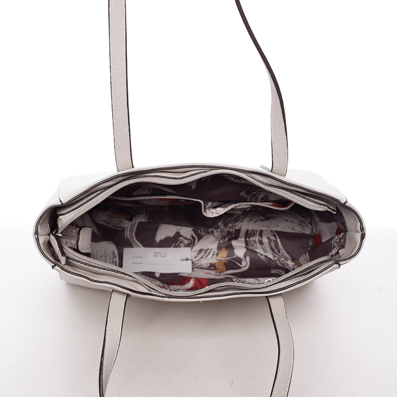 Trendy dámská kabelka Aurora, béžová