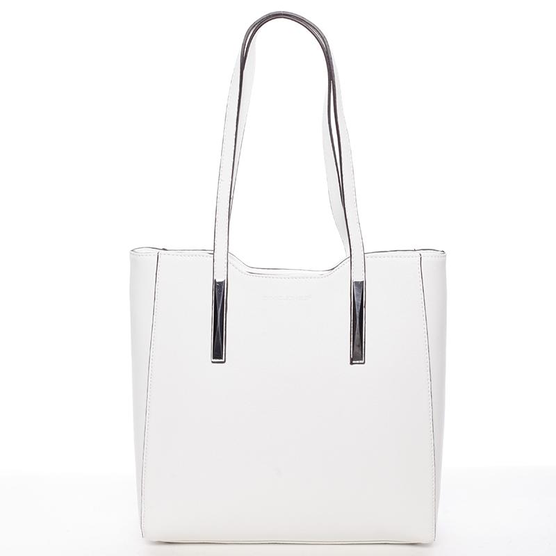 Trendy dámská kabelka Aurora, bílá