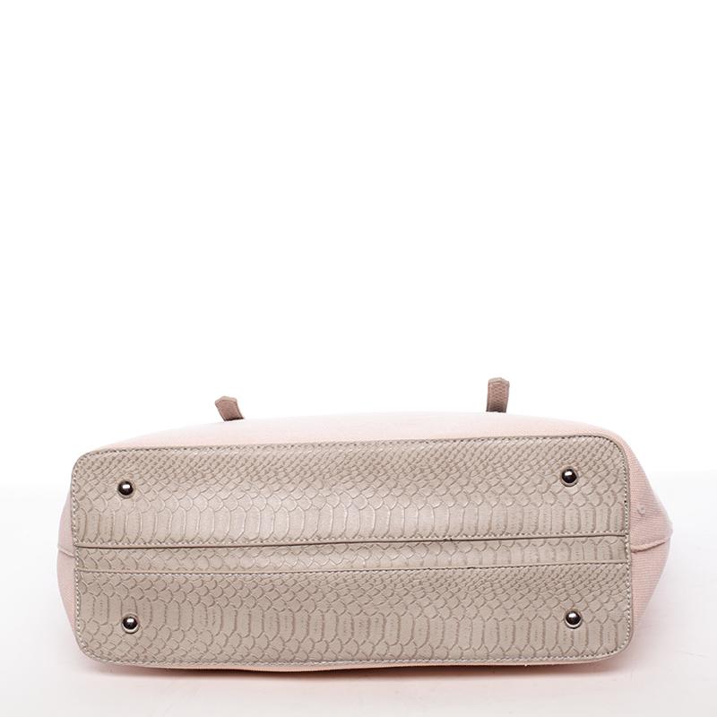 Trendy kabelka přes rameno Bibiana, růžová