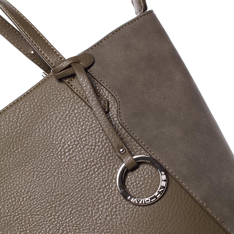 Stylová kabelka přes rameno Desirée, khaki