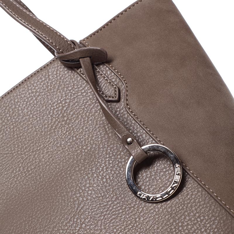 Stylová kabelka přes rameno Desirée, tmavě oříšková