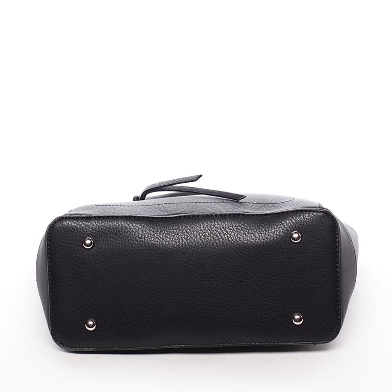 Trendy kabelka přes rameno Cristal, černá